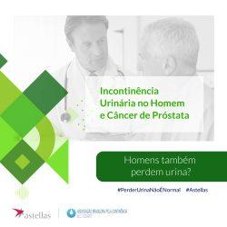 Incontinência urinária após cirurgia de próstata é a complicação que mais preocupa os homens.